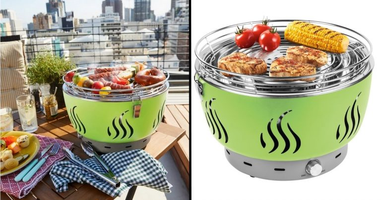 mini barbecue à piles Lidl 55 euros