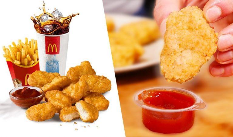 Voilà ce que contiennent vraiment les nuggets de chez McDonald's !