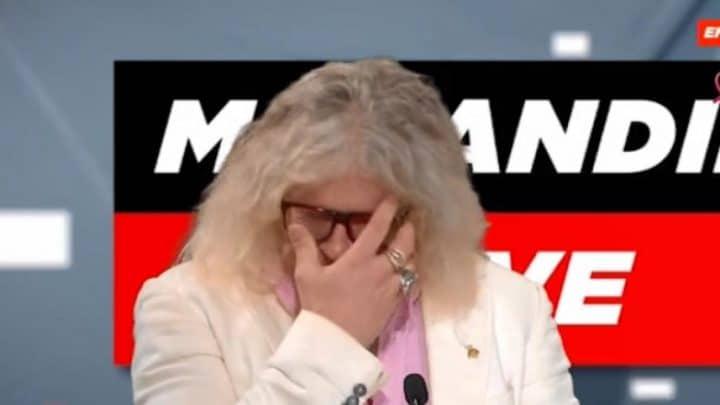 En pleurs, Pierre-jean Chalençon dans Non Stop People, l'émission de Morandini.