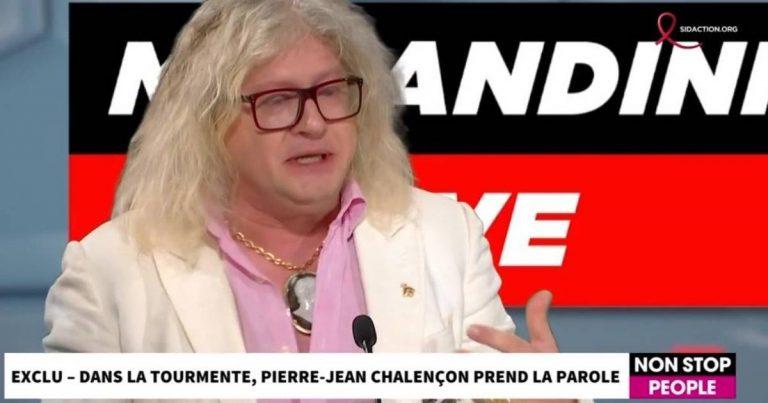Pierre-Jean Chalençon en larmes dans Non Stop People.