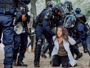 arrestation musclée infirmière