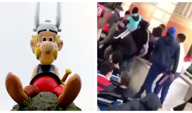 Une violente bagarre au Parc Astérix oppose des visiteurs aux employés (Vidéo)