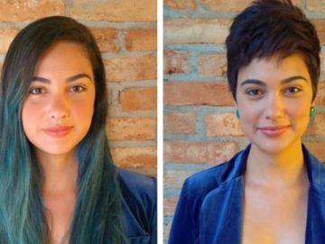 15 photos avant-après coupe de cheveux radicale