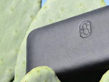 cuir vegan à partir cactus