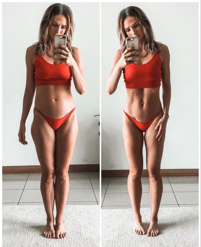 Danae Mercer prend la pose sur Instagram.