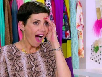 cristina cordula choc décolleté candidate reines du shopping