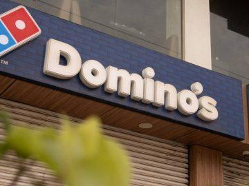 Domino's Pizza en France.