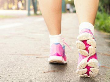 temps de marche à pieds perte de poids