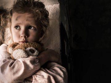 Une enfant abandonnée.