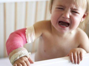 Un enfant maltraité.
