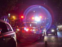 Des policiers et les secours lors de la fusillade d'Austin.