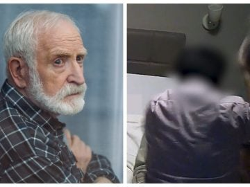 Homme frappé en maison de retraite.