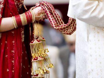 Un mariage en Inde.