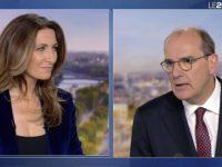 Jean Castex, invité du journal télévisé de TF1.