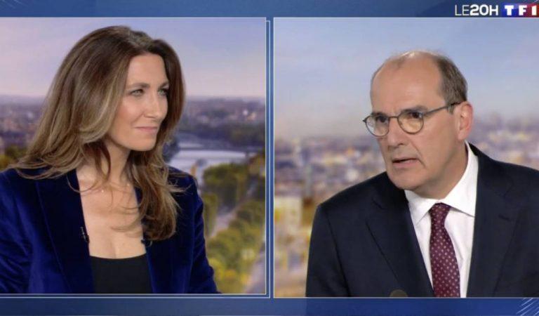 Echanges tendus pendant le JT de TF1 : Jean Castex, nouveau Premier ministre, recadre Anne-Claire Coudray en direct (vidéo)