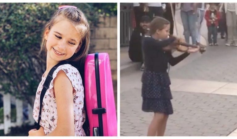 Vidéo : Cette fillette livre une sublime interprétation de «Despacito» avec son violon
