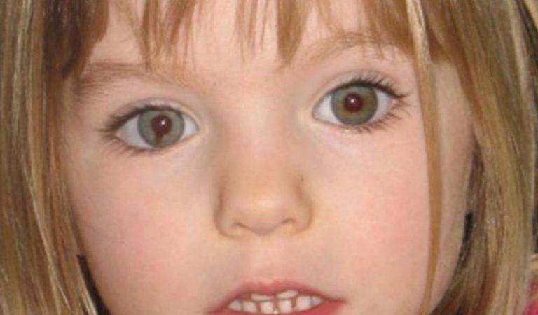 Maddie McCann aperçue vivante assure un témoin qui a reconnu la tâche dans son oeil droit