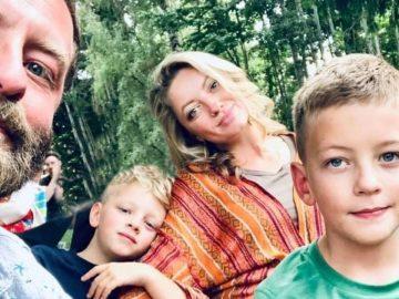 J.R. Storment et sa famille.