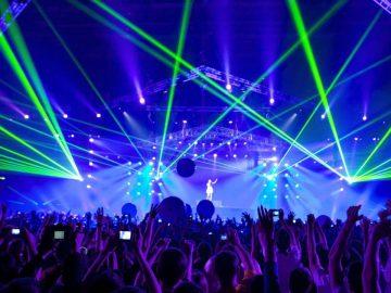 Un concert géant en Allemagne.