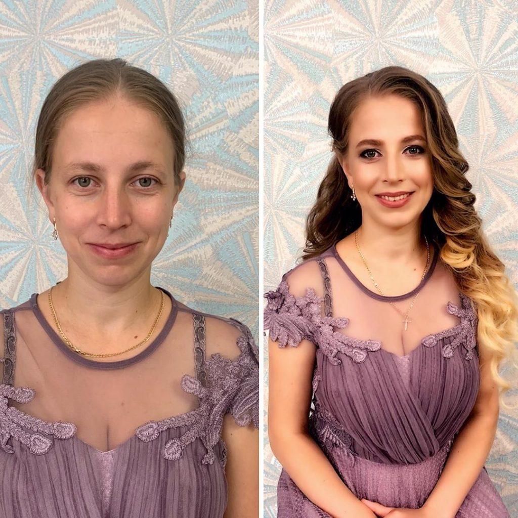 mise en beauté transformation