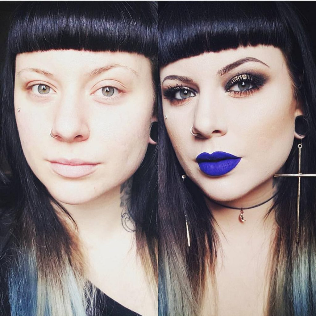 art maquillage transformation spectaculaire