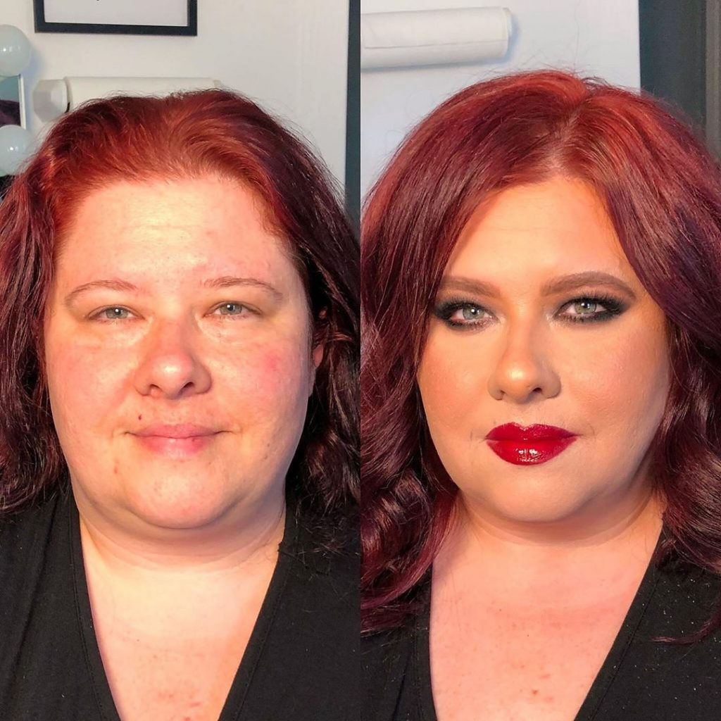 couleurs maquillage changement visage