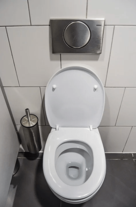 WC modernes en porcelaine