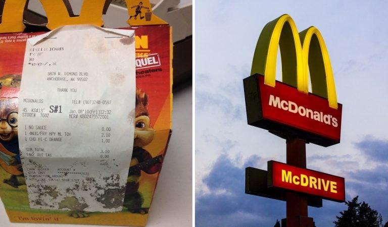 McDonald's : elle laisse «pourrir» un Happy Meal pendant 6 ans (Photo)