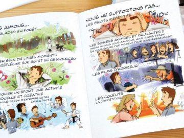 bd illustrations hypersensibilité Pierrick Martinez