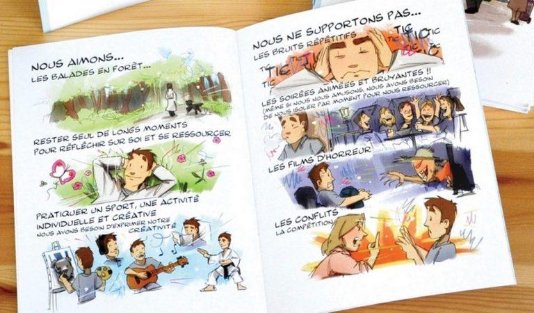 Un artiste décrit l'hypersensibilité à travers 10 illustrations