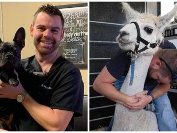 Joren Whitley, chiropracteur pour animaux.