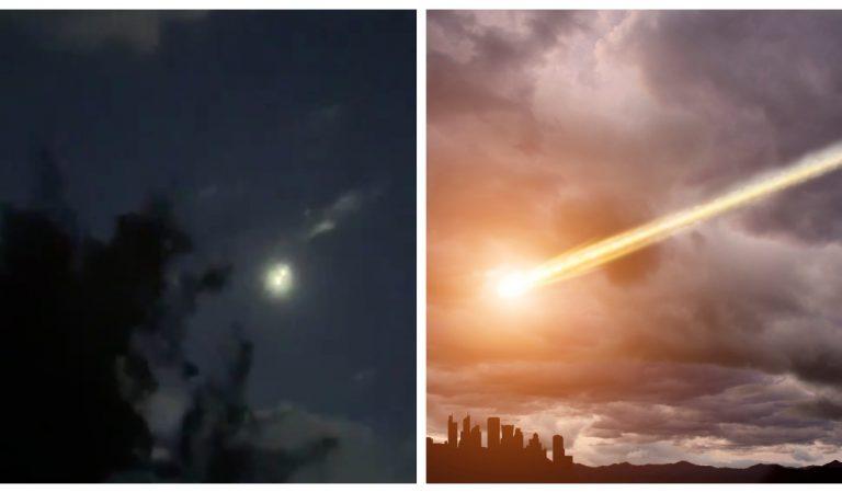 Vidéo : L'entrée spectaculaire d'une météorite dans l'atmosphère, filmée par une Américaine