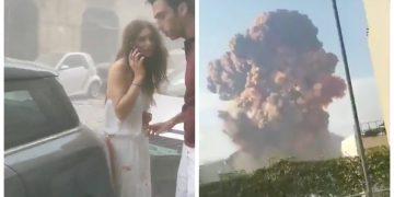 Les vidéos et les images des deux explosions à Beyrouth, au Liban, ce mardi 04 août 2020.