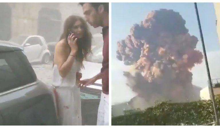 Vidéos : Les images impressionnantes des explosions à Beyrouth (Liban)