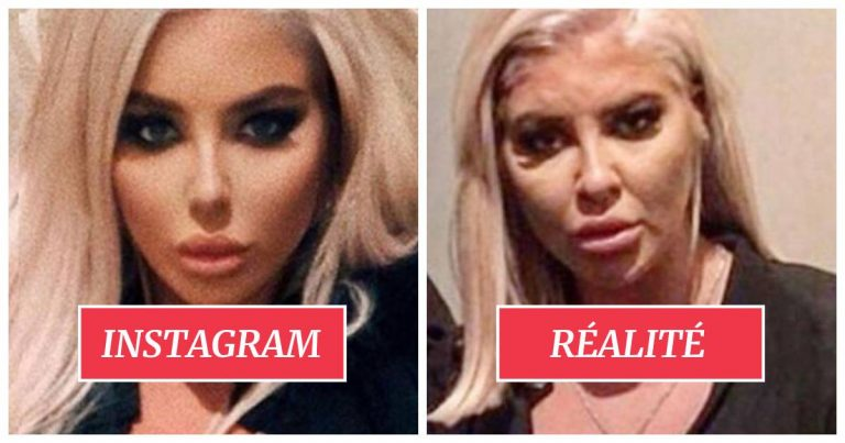 Une influenceuse sans maquillage.