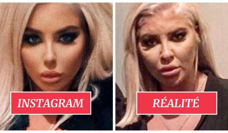 20 influenceuses Instagram qui arrivent à tromper le monde en abusant des «filtres beautés» et de la retouche