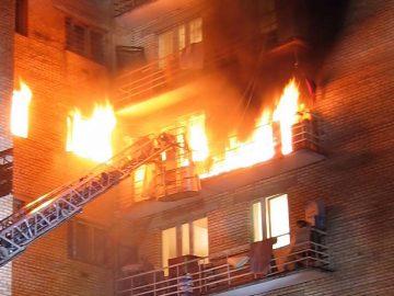 Albert Ndreu a mis le feu à son logement en demandant en mariage sa compagne, en Angleterre.