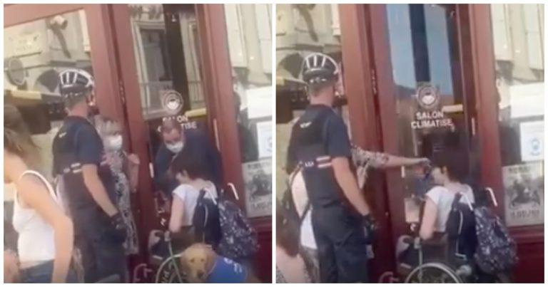 Une jeune femme handicapée refusée d'un salon de thé à Castres.