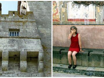 Des latrines romaines et des latrines médiévales.