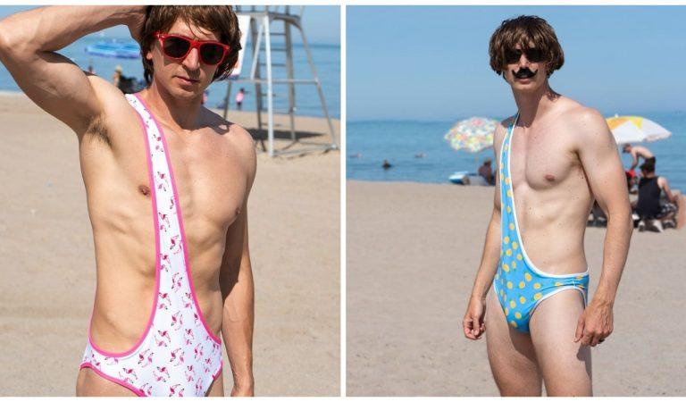 Le brokini, version masculine du bikini, qui s'apprête à faire fureur à la plage !