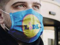 Lidl vend des masques anti covid à prix mini.