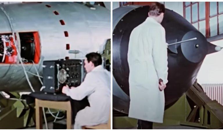 La Russie dévoile une vidéo secrète de la plus grosse bombe nucléaire de toute l'histoire