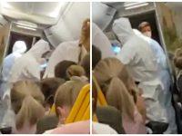 Ryanair évacue un passager positif au coronavirus.