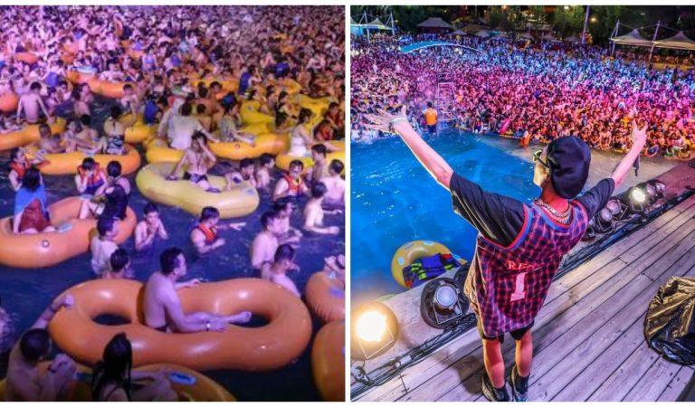 Vidéo : une gigantesque fête techno à Wuhan indigne les internautes