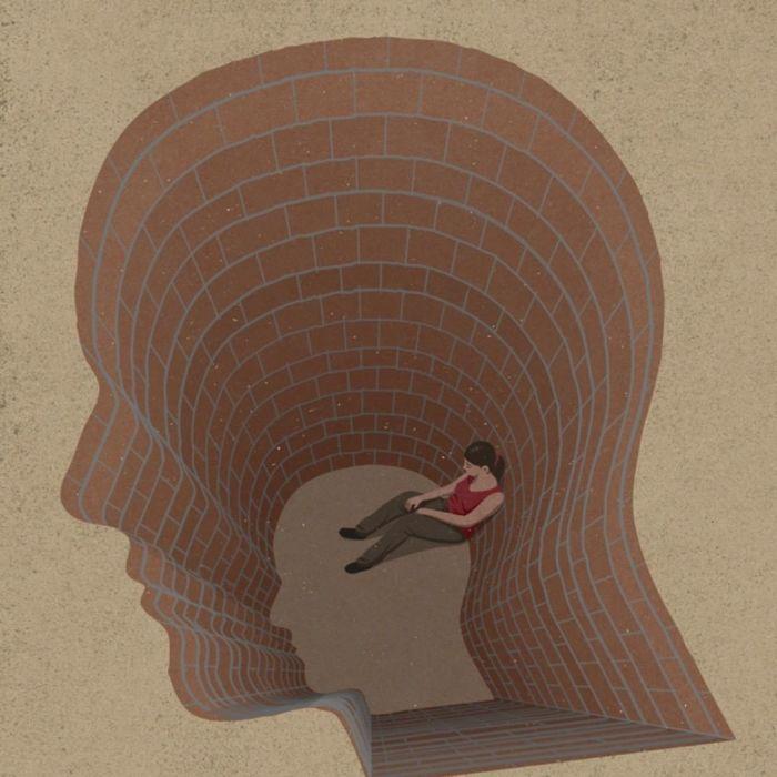 La dépression est une prison, les problèmes de santé mentale emprisonnent.