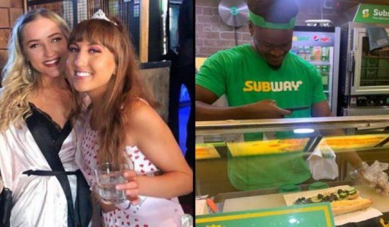 Deux clientes commandent un sandwich Subway tellement improbable que le serveur le photographie