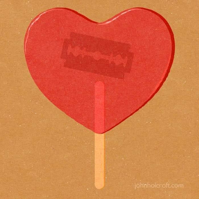 L'amour passion et les séparations de couple.