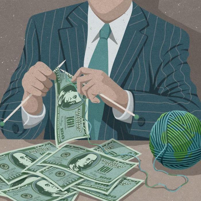 La société de consommation qui détruit la planète