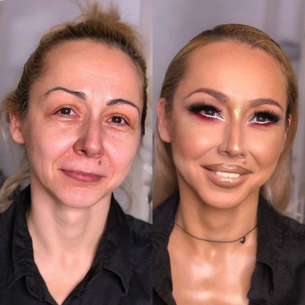 Stefan Subotic maquillage transformation spectaculaire