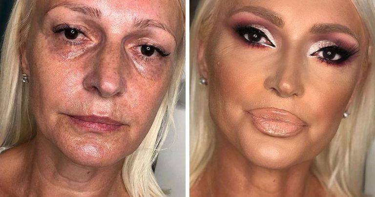 Stefan Subotic maquillage transformations incroyables avant-après